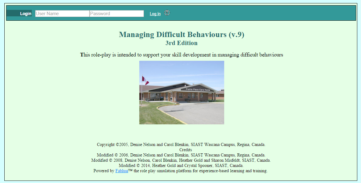Managing Difficult Behaviours v.10