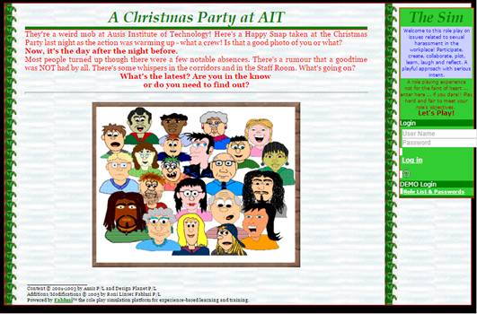 A Christmas Party at AIT: Sexual harrasement in the workplace